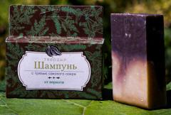 Natural solid shampoo - From dandruff. Wholesale