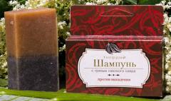 Natural solid shampoo - Against loss. Wholesale