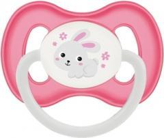 Пустышка латексная круглая Bunny&Company
