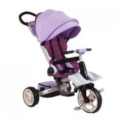 Трёхколёсный велосипед Baby club, фиолетовый