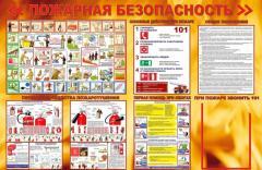 Yangın emniyet bilgi standı