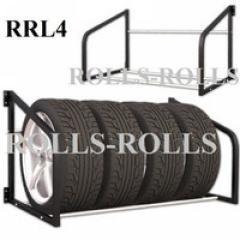 Тележка для перевозки автомобильных шин RRL4 С колёсами