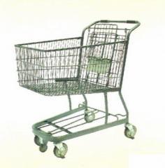 Тележка покупательская для супермаркетов и магазинов