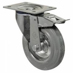 Колёса на резиновом ходу поворотные norma с...