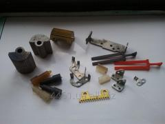 Spare parts of the subway