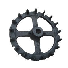 Колесо катка шпоровое ККШ-6 Ø460 mm, Ø45 mm