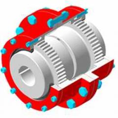 Couplings gear type 1 No. 1-8, Gear couplings
