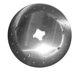 Диск аппарата высевающий подсолнух Ø3.5, 18 отв. Kuhn Planter