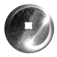 Диск аппарата с лопатками высевающий свекла FLA1935 Ø2.1, 22 отв. Kuhn Planter
