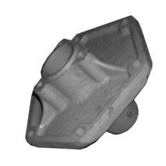 Ступица колеса опорного голая, п/к 205, м-та 30х52 СУПН-8 6 шпилек