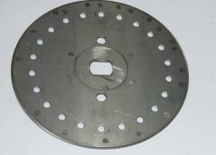 Диск аппарата высевающий подсолнечник Ø3,0, 14 отв. СУПН