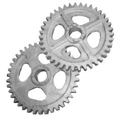 Колесо зубчатое редуктора тукового z=39 Веста-8, Вега