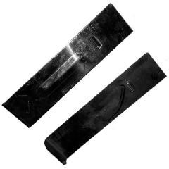 Шибер верхний дозатора минудобрений узкий Тодак