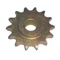 Звездочка консоли колеса приводного ведущая z=14 под шпонку Тодак