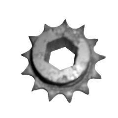 Звездочка прив. аппарата высев. Z=13, Т=15,875 шестигранник СУПН-8А, УПС,Вега,Веста