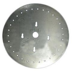 Диск аппарата высевающий УПС Ø2,2, 40 отв. толщ. 0,8мм УПС