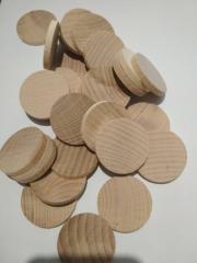 Пластинки круглые 40 мм ( упак 50 шт )