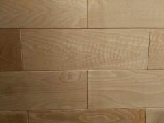 Wall panels made of beech
