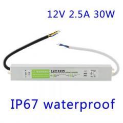 Блок питания герметичный LED Power 12V 2, 5A