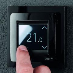 Терморегулятор DEVIreg Touch Black (с...