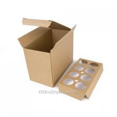Витринная коробка для бутылок