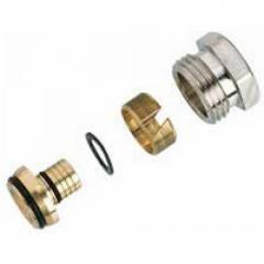 Компрессионный фитинг для металлополимерных труб (ALUPEX) 013G4186