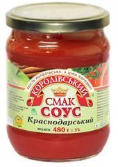Соус краснодарський (краснодарский) 480 г