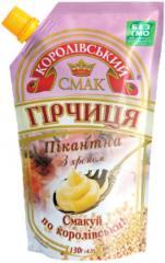 Горчица пікантна (пикантная) с хреном 130 г