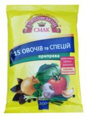 Приправа 15 овощей и специй 200 г