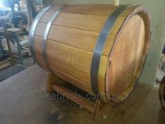 Oak barrel under alcohol, 50 l.