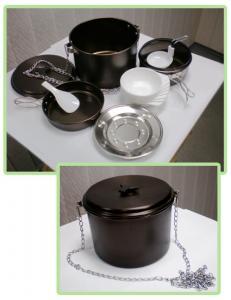 Посуда для туристов купить оптом, набор посуды для