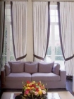 Curtains for a drawing room
