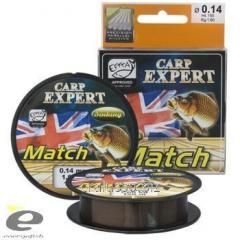 Леска Carp Expert Match sinKing 150 м 0.20 мм