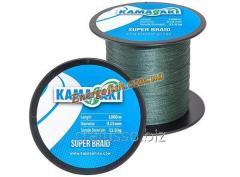 Cord KAMASAKI SUPER BRAID 1000 m 0,30 mm