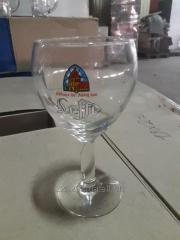Beer glasses glasses of Leffe of 0.33 l