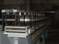 Equipment for production of a window armir