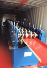 Equipment for production of metal siding and wall