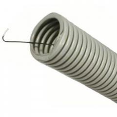 Corrugated pipe with a steel broach D 11/16