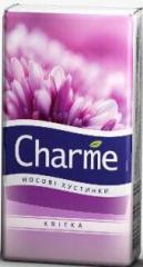 Носовые платки Charme цветок Эко