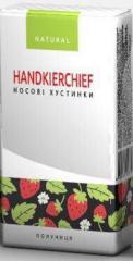 Handkerchiefs, Natural Strawberry Eco
