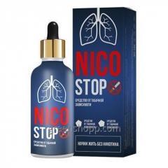 Капли от никотиновой зависимости NicoStop Никостоп