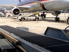 Conveyor belt Rough Top Conveyor Belts | Supergrip Conveyor Belts for the airport