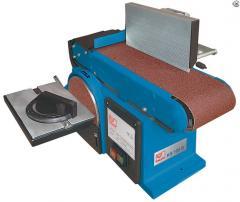 Ленточно-дисковый шлифовальный станок - KS 100 B