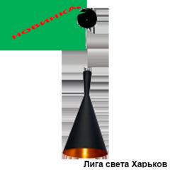 Cветильник потолочный Delux WC-0912-01 алюминиевый d187х400