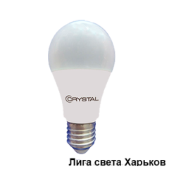 Лампа Led Crystal A60 8W E27 4000K
