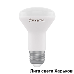 Лампа Led Crystal R63 7W PA E27 4000K