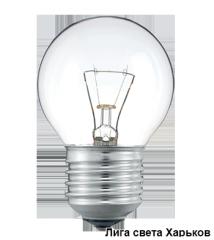 Glow lamp 75 of W of E27