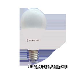 Лампа светодиодная Crystal LED A60 12W E27 4000K