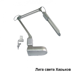 Настольная лампа Lemanso 069/DE1205 серая