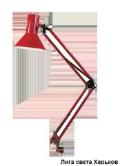 Настольная лампа Lemanso LM 074 красная